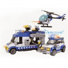 Police Block Set 336pcs
