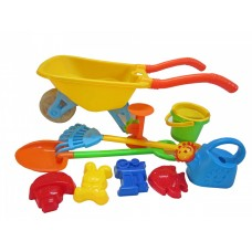 Wheelbarrow Beach Playset