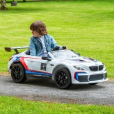 Kids Electric Ride On Car BMW M6 GT3 - White